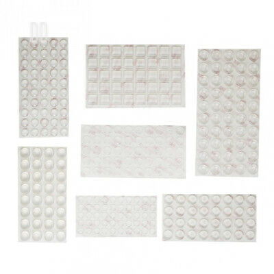 Shintop 304 Pieces Furniture Bumpers, Clear Adhesive Buffer Pads Noise...