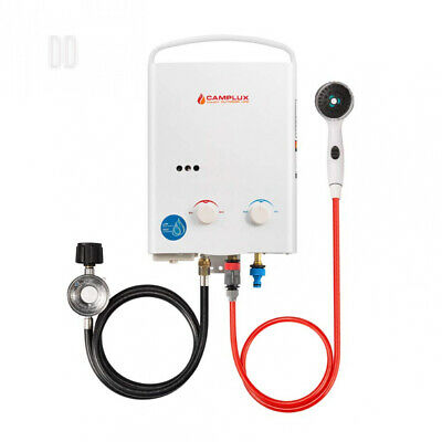 Camplux AY132 Tankless Propane Gas Water Heater White 5L [Energy Class G]