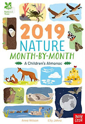 National Trust: 2019 Nature Month-By-Month: A Children's Almanac Hardcover –...
