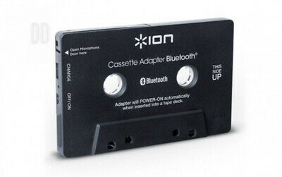 ION Audio Cassette Adapter Bluetooth | Music Receiver for Decks With...