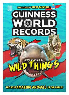 Guinness World Records Wild Things Paperback – Illustrated, 4 Oct 2018