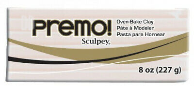 Polyform Premo Sculpey Polymer Clay 8 oz Translucent