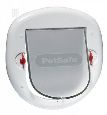 PetSafe Staywell Big Cat/ Small Dog, White, Easy Install for Sliding Glass Doors