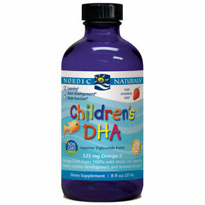 Children's DHA Strawberry 8 oz by Nordic Naturals