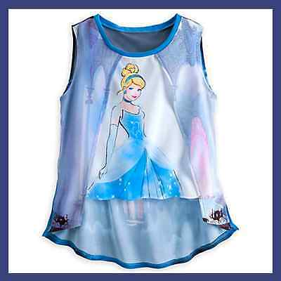 Disney Boutique Collection Princess Cinderella Women's Tank Top New with Tag!
