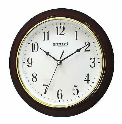 Large Classic Traditional Silent Sweep Quartz Bold Wall clock by Amms GD260017
