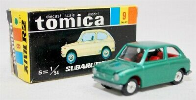 Tomy Tomica-09, Subaru R-2, Green, Red Int Bb090
