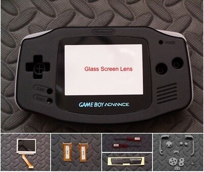 GAMEBOY ADVANCE BACKLIGHT Backlit Adapt AGS101 Mod Kit w/glass lens