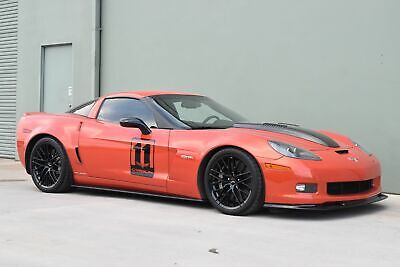 2011 Chevrolet Corvette Z06 Carbon Edition Callaway SC606 2011 Orange Z06 black Carbon Edition Callaway SC606!