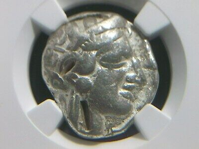 Greek Silver Tetradrachm from Attic Athens, 440-404 BC NGC Certified 3022