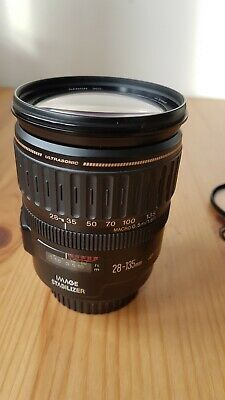 Canon EF 28-135mm F/3.5-5.6 IS USM LensVery good clean condition. UV Hoya filter