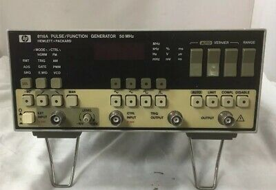HP 8116A 50MHz Pulse/Function Generator
