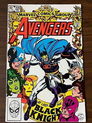 Avengers 225 (vol. 1) 1st Print 1ST APP BALOR Marvel VF/NM BLACK KNIGHT