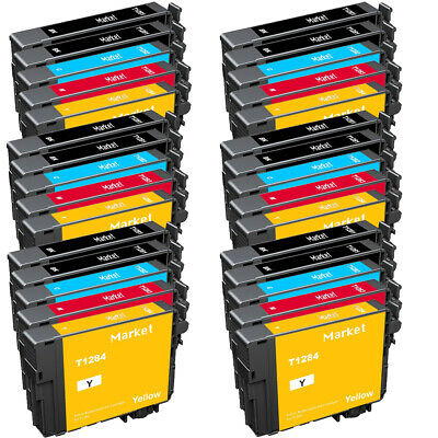 10 PACK INK CARTRIDGES FOR EPSON STYLUS S22 SX125 SX130
