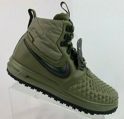 Nike LF1 Duckboot '17 Olive Black Wolf Grey 916682-202 Men's Air Force 1 Boots