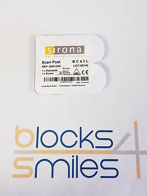 Dentsply Sirona Cerec Scan Post B C 4.1 L | REF :6431220 (Scan Post, Scan Screw)