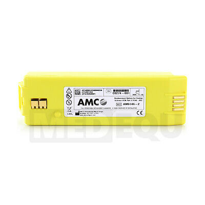 Cardiac Science Powerheart G3 AED Defibrillator Battery AMCO 9146-2 UK New