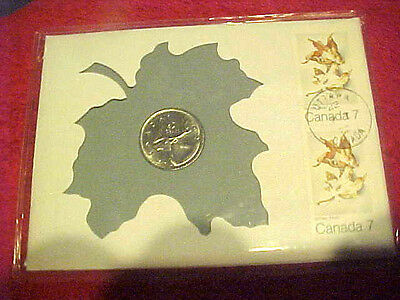 1972 #239 99 Company First Day First Issued Canadian Pure Nickel 25 Cent Caribou