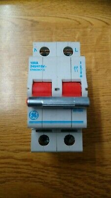 GE General Electric 100A DP Isolator Main Switch 651585