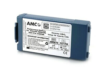 Philips Heartstart FRx Replacement Battery AM5070 AMCO Equv M5070A UK Seller New
