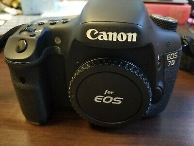 Canon EOS 7D 18.0MP Digital SLR - (Body Only) Battery/strap/charger included
