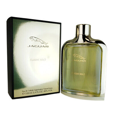 Jaguar Classic Gold For Men 34 Oz Eau De Toilette Spray 1699
