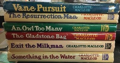 Lot Of 6 Book Club Edition Charlotte Macleod Hardcovers