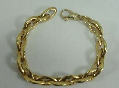 """1.4g Solid Sterling Silver 2mm Classic Curved Bar Chain Bracelet 7.5/"""""""