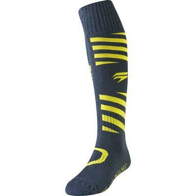 SHIFT MX Whit3 White Muse Motocross Socken 2019 gelb navy Motocross Enduro MX Cr