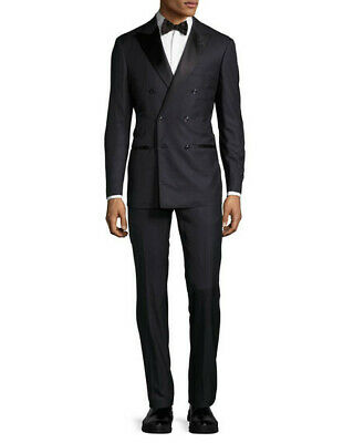 5d6f26affe1ba2 BRUNELLO CUCINELLI CASHMERE blend DB Tuxedo Suit 48 USA 38 New 6500 ...