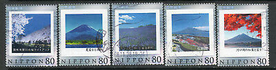 JAPAN 5 different / 19-1-3j / used