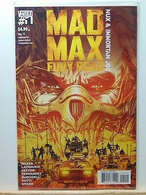 Mad Max Fury Road Nux & Immortan Joe #1 Vertigo Comics 2nd Print  CB8355