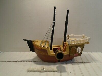 Fisher-Price Great Adventures Pirate Ship # 7043 Vintage 1994