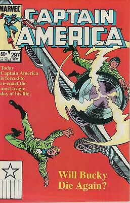 Captain America # 297, High Grade Copy, Features The Red Skull
