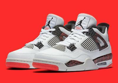 separation shoes 00de6 0f78c Nike Air Jordan 4 Flight Nostalgia 308497-116 US 8-14 Lava Pale Citron