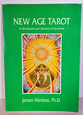 1986 Tarot Book New Age Workbook and Glossary of Symbols Benefits Wanless