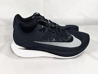 online store ff42f f28db Nike Zoom Fly Black White Anthracite Running Shoes 880848-001 Men s 11