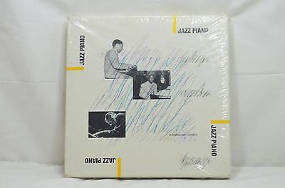 Vintage JAZZ PIANO SMITHSONIAN COLLECTION 4 CASSETTE BOX SET FACTORY SEALED