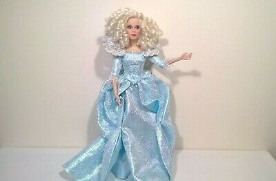 "Disney / Live Action Cinderella Movie / Fairy Godmother 12"" Doll"