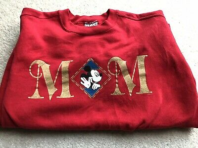 Vintage Mickey Mouse GEAR for Sports Jumper, Size XL 90s