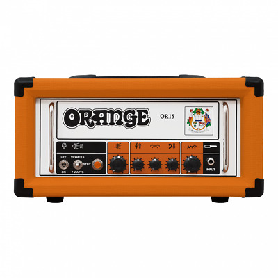 Orange OR15H Pics Only 15W Guitar Head Amp OR 15 Amplifier