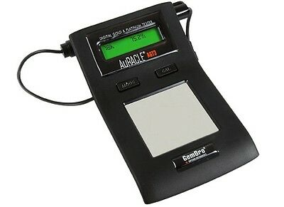NEW GemOro Auracle AGT3 Digital LCD Gold & Platinum Fine Metal Tester