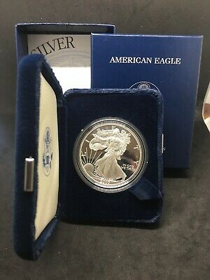 2003 W Silver Proof American Eagle Dollar Coin US Mint