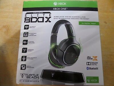 TURTLE BEACH EAR Force Elite 800X Wireless Gaming Headset Xbox One (H-41)  In Box