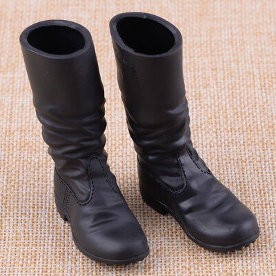 """1:6th US Army PMC sand color old combat hollow boots For 12/"""" Male Body Doll"""