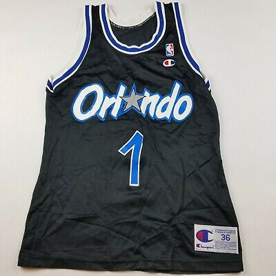 178df5dba5f VTG Black Champion Orlando Magic Penny Hardaway Jersey Mens Sz 36 S Made in  USA