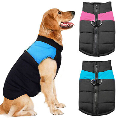 Dog Clothes for Big Dogs Waterproof Medium Large Coat Winter Warm Jacket 2XL-7XL