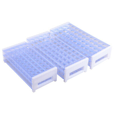 13 / 16/ 18mm 3 Layers Plastic Test Lab Tube Rack Holder Centrifugal Pipe Stand