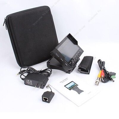 """4.3"""" LCD Monitor Video/Audio/UTP Test CCTV Tester Security Camera Tester"""