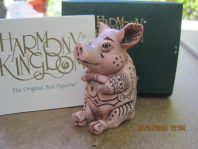 Harmony Kingdom Ink Oink RW CC Redemption Pc UK Made Box Figurine LE 250 RARE